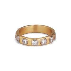 Square Diamond Dream, 18 karat gold