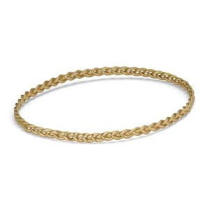 Braided Bracelet, 18 karat gold
