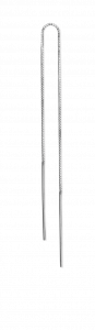 Einfacher Kettenohrring