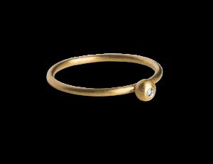 Princess Ring, vergoldetem Sterlingsilber