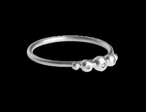 Medium Diadem Ring, Sterlingsilber