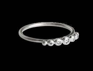 Big Diadem Ring, Sterlingsilber