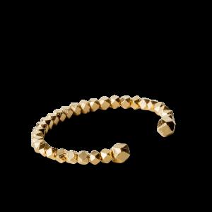 Chunky Bead Bracelet, vergoldetem Sterlingsilber