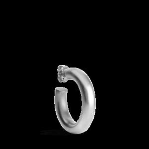 Large Chunky Hoop, Sterlingsilber