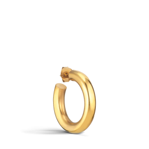 Shiny Chunky Hoop, vergoldetem Silber