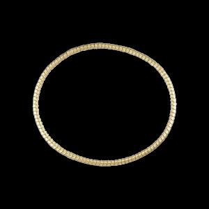 Gedrehtes Armband, 18 Karat Gold