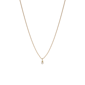 Brilliant pendant, 18 Karat Gold, 0,02 ct. Diamant