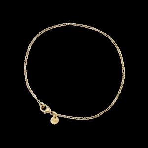 Figaro Panzer bracelet, 18 karat gold