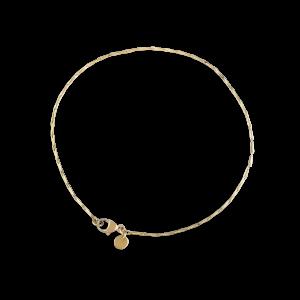 Corn chain bracelet, 18 Karat Gold