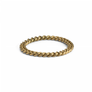 Big Chain Ring, 18 Karat Gold