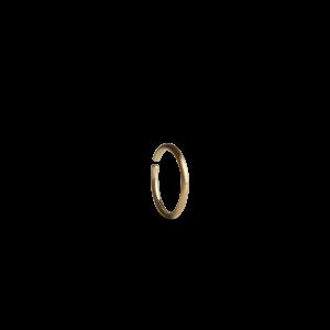 Twist earring, 18 Karat gold