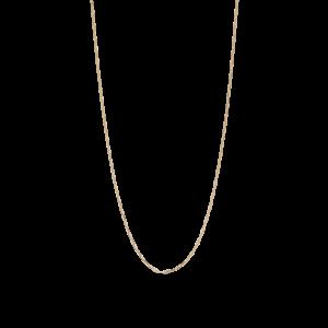 Stretched Anchor Halskette, vergoldetem Sterlingsilber