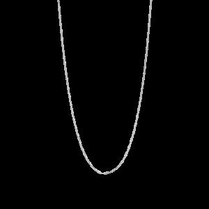Stretched Anchor Halskette, Sterlingsilber