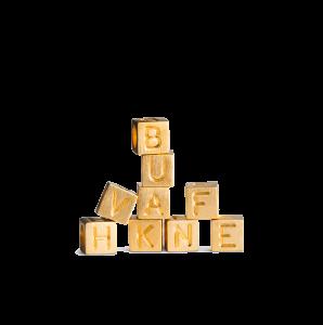 Love Letter Alphabet, vergoldetes Sterlingsilber