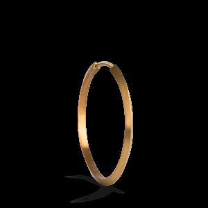 Midi Hoop, vergoldetes Sterlingsilber