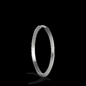 Midi Hoop, Sterlingsilber