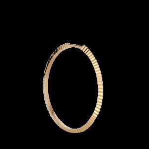 Reflection Midi hoop, vergoldetem Sterlingsilber