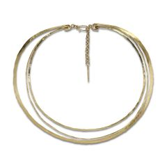 Exclusive Wire Choker, 18 Karat Gold