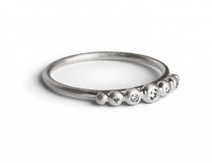Big Diadem Ring, Sterlingsilber