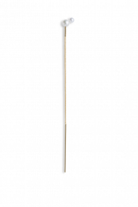 Kettenohrring mit Doppelperle