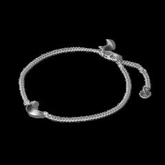 Half Moon Bracelet, sterling silver