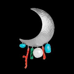 Big Moon Earring