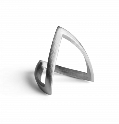 V Ring, Sterlingsilber