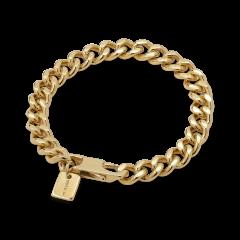 F+E Chain Bracelet, vergoldetem Sterlingsilber