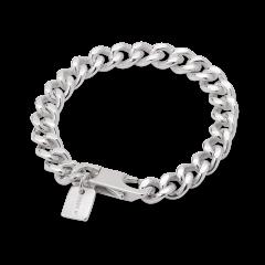F+E Chain Bracelet, Sterlingsilber