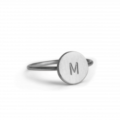 Lovetag Ring, Sterlingsilber