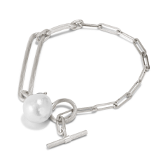 Salon Pearl armband, Sterlingsilber