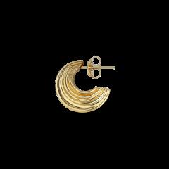 Small Sculpture Earring, vergoldetem Sterlingsilber