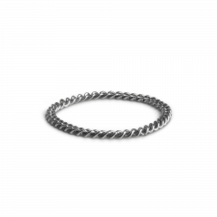 Small Chain Ring, Sterlingsilber