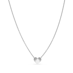 Reflection Heart necklace, Sterlingsilber