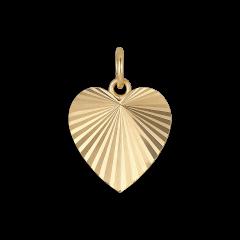 Reflection Heart pendant, vergoldetem Sterlingsilber