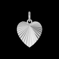 Reflection Heart pendant, Sterlingsilber