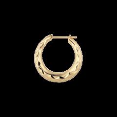 Reflection Rhombus earring, vergoldetem Sterlingsilber