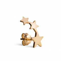 Sternenreihe Ohrstecker